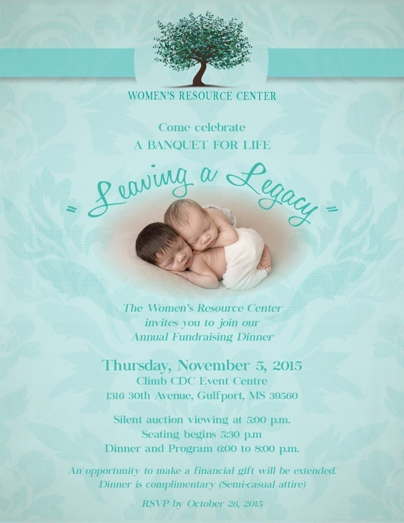 Leaving a Legacy Banquet Women's Resource Center