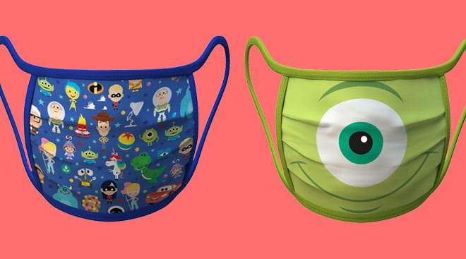 Disney Debuts Face Masks With All Your Favorite Characters